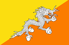 country Bhutan (Tengah)
